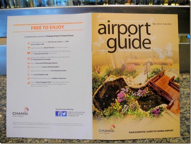 Гид-справочник по аэропорту Сингапура
