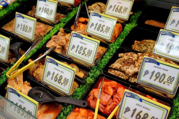 В супермаркете Робинзон