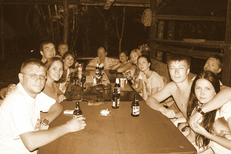 Первый вечер в Сабанге